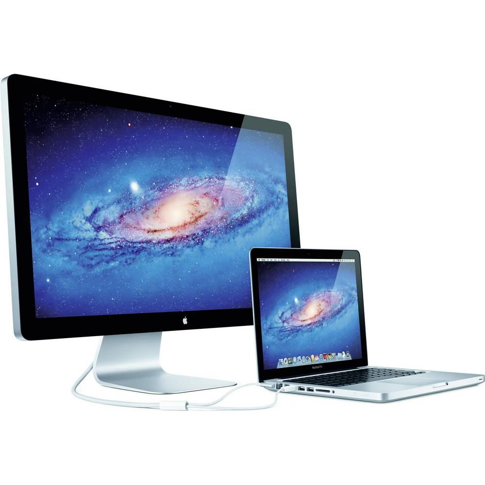 led monitor 68 6 cm 27 zoll apple thunderbolt display. Black Bedroom Furniture Sets. Home Design Ideas