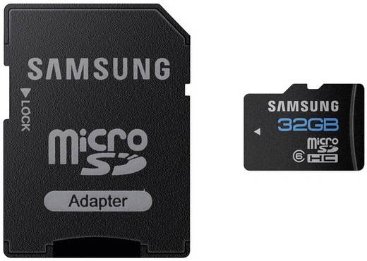 samsung microsdhc karte 32gb class 10 inkl sd adapter kaufen. Black Bedroom Furniture Sets. Home Design Ideas