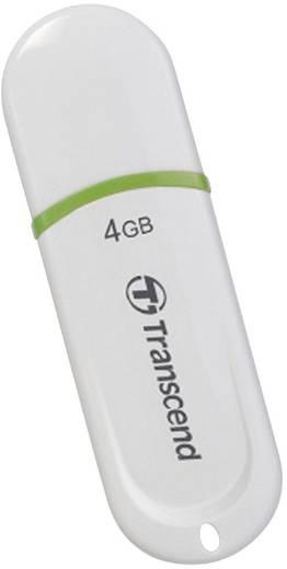 USB-Stick 4 GB Transcend JetFlash® 330 Weiß TS4GJF330 USB 2.0