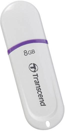 USB-Stick 8 GB Transcend JetFlash® 330 Weiß TS8GJF330 USB 2.0