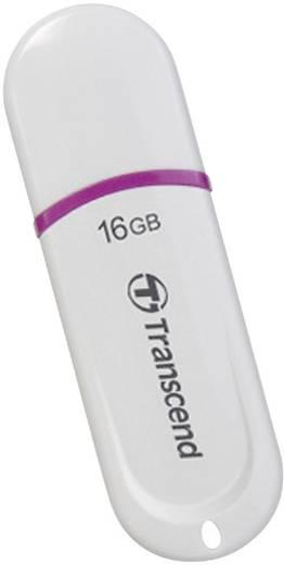 USB-Stick 16 GB Transcend JetFlash® 330 Weiß TS16GJF330 USB 2.0