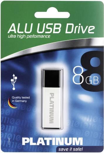 USB-Stick 8 GB Platinum ALU Silber 177556 USB 2.0