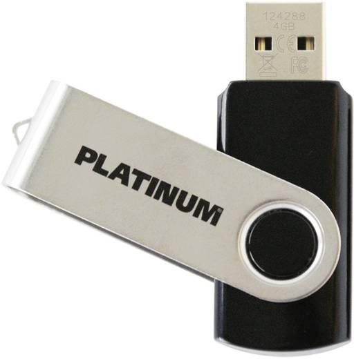 USB-Stick 4 GB Platinum TWS Schwarz 177558 USB 2.0