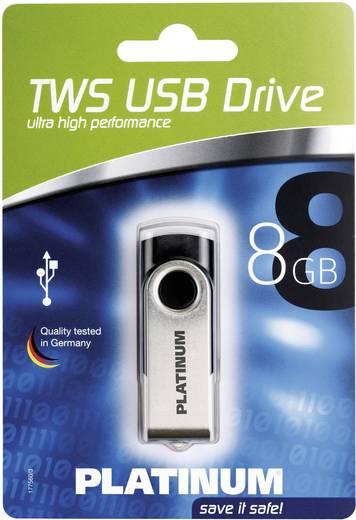 USB-Stick 8 GB Platinum TWS Schwarz 177558 USB 2.0