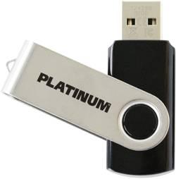 USB flash disk Platinum TWS 177558, 64 GB, USB 2.0, čierna