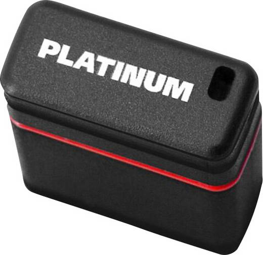 USB-Stick 16 GB Platinum Mini Schwarz, Blau 177536 USB 2.0