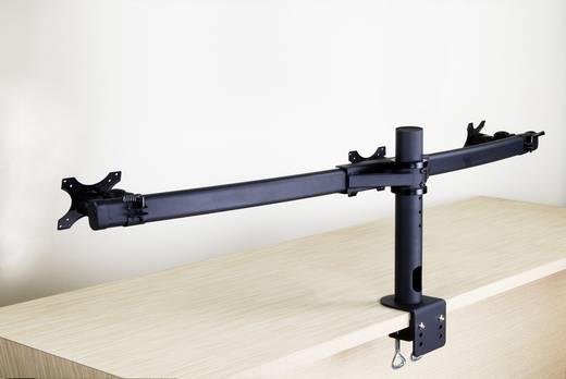 """3fach Monitor-Tischhalterung 33,0 cm (13"""") - 61,0 cm (24"""") Schwenkbar, Rotierbar SpeaKa Professional 28235C44 Höhenverst"""