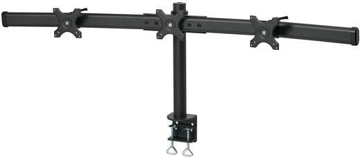 """3fach Monitor-Tischhalterung 33,0 cm (13"""") - 61,0 cm (24"""") Neigbar+Schwenkbar, Rotierbar SpeaKa Professional Höhenverstellbar"""