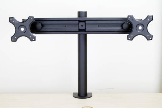 """2fach Monitor-Tischhalterung 33,0 cm (13"""") - 68,6 cm (27"""") Neigbar+Schwenkbar, Rotierbar SpeaKa Professional 28235C47 Hö"""