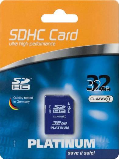 Platinum SDHC Karte 32GB Class 10