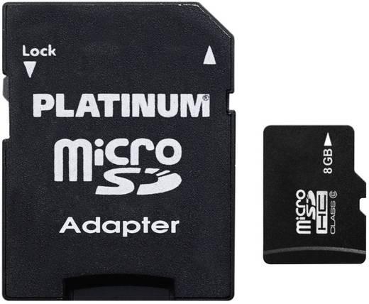 Platinum MicroSD Karte 8GB Class 6 inkl. SD-Kartenadapter