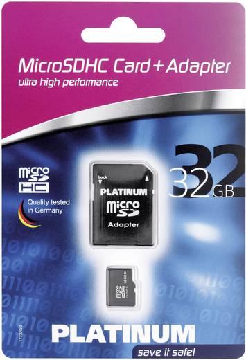 Platinum MicroSDHC Karte 32GB Class 6 inkl. SD-Kartenadapter