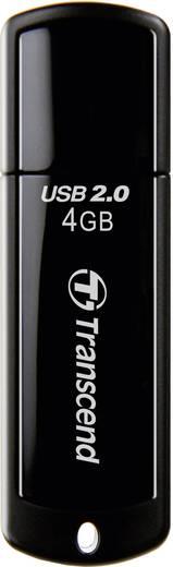 USB-Stick 4 GB Transcend JetFlash® 350 Schwarz TS4GJF350 USB 2.0
