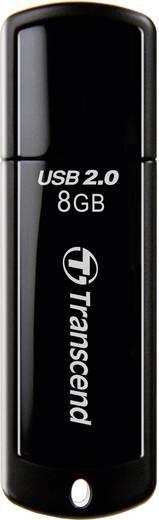 USB-Stick 8 GB Transcend JetFlash® 350 Schwarz TS8GJF350 USB 2.0