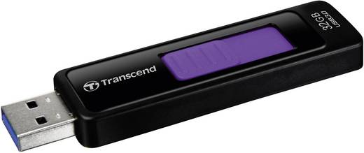 USB-Stick 32 GB Transcend JetFlash® 760 Schwarz TS32GJF760 USB 3.0