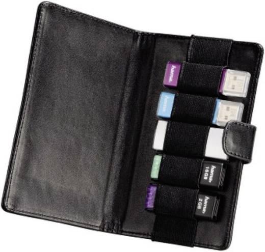 USB-Stick-Tasche Hama 84409 USB-Stick Schwarz