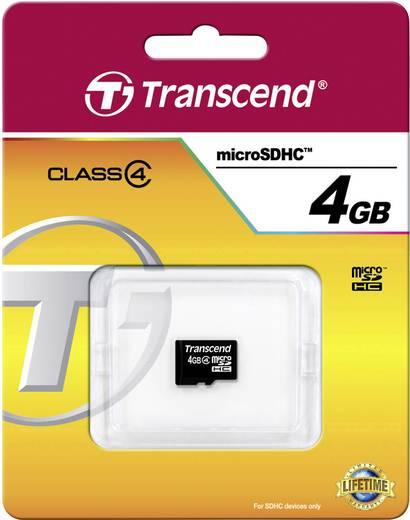 Transcend Standard microSDHC-Karte 4 GB Class 4