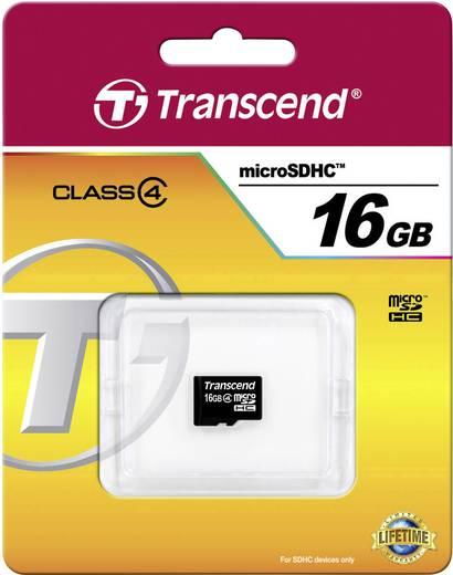 microSDHC-Karte 16 GB Transcend Standard Class 4