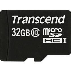 Paměťová karta Micro SDHC 32 GB Transcend Premium Class 10 - Transcend microSDHC 32GB Class 10 TS32GUSDC10 - Transcend microSDHC 32GB Class 10 TS32GUSDC10