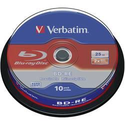 Image of Verbatim 43694 Blu-ray BD-RE Rohling 25 GB 10 St. Spindel