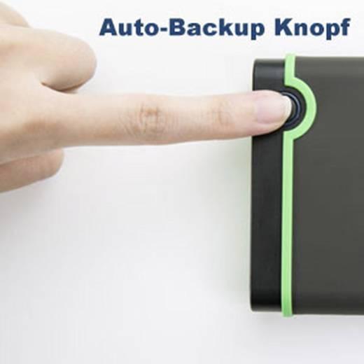 Externe Festplatte 6.35 cm (2.5 Zoll) 1 TB Transcend StoreJet 25M3 Eisen-Grau USB 3.0
