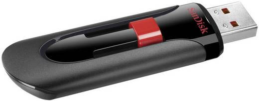 SanDisk Cruzer® Glide™ USB-Stick 64 GB Schwarz SDCZ60-064G-B35 USB 2.0