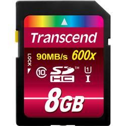 Pamäťová karta SDHC, 8 GB, Transcend Ultimate, Class 10, UHS-I