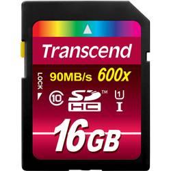 Pamäťová karta SDHC, 16 GB, Transcend Ultimate, Class 10, UHS-I