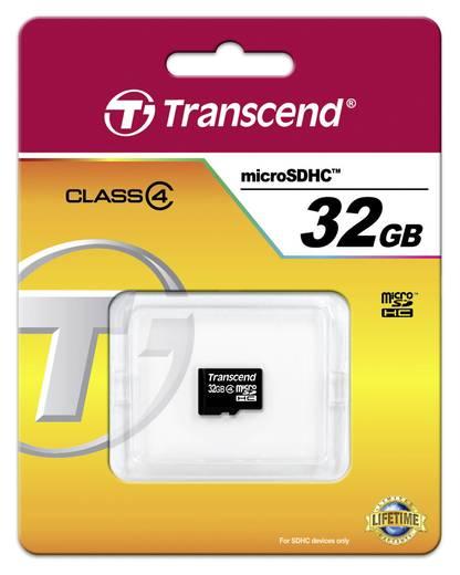 microSDHC-Karte 32 GB Transcend Standard Class 4