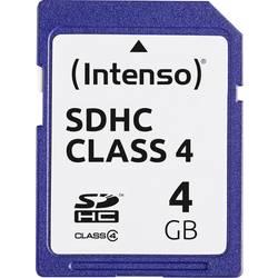 Pamäťová karta SDHC, 4 GB, Intenso Blue, Class 4