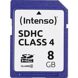 Pamäťová karta SDHC 8 GB Intenso 8GB Secure Digital Card SDHC Class 4