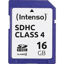 Pamäťová karta SDHC, 16 GB, Intenso Blue, Class 4