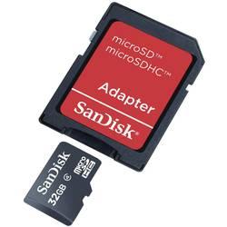 Pamäťová karta micro SDHC, 32 GB, SanDisk SDSDQB-032G-B35, Class 4, vr. SD adaptéru