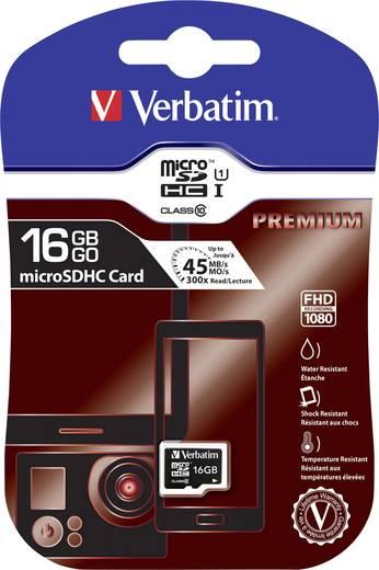 microSDHC-Karte 16 GB Verbatim Premium Class 10