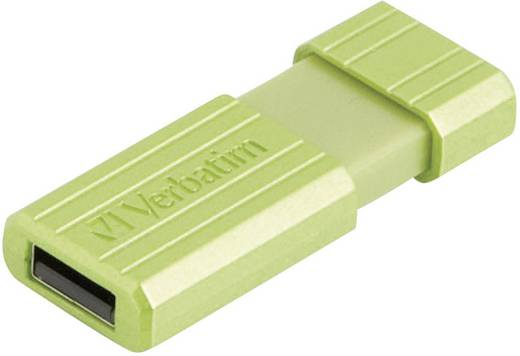USB-Stick 16 GB Verbatim Pin Stripe Grün 49070 USB 2.0
