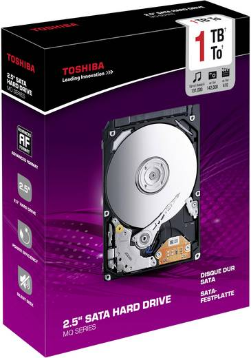 Interne Festplatte 6.35 cm (2.5 Zoll) 1 TB Toshiba Bulk MQ01ABD100 SATA II