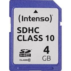 Paměťová karta SDHC 4 GB Intenso Class 10