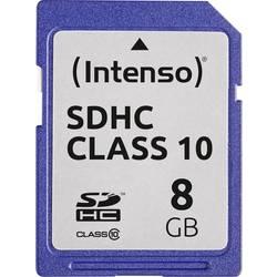 Karta SDHC, 8 GB, Intenso 3411460 3411460, Class 10