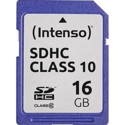 Pamäťová karta SDHC, 16 GB, Intenso 3411470, Class 10
