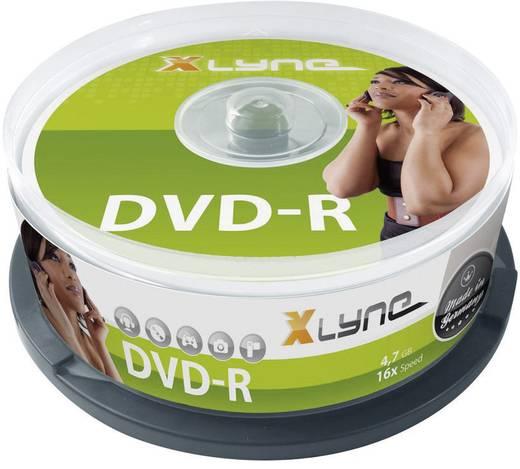 DVD-R Rohling 4.7 GB Xlyne 2025000 25 St. Spindel