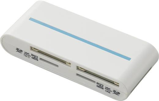 Externer Speicherkartenleser USB 3.0 Renkforce CR25e Weiß