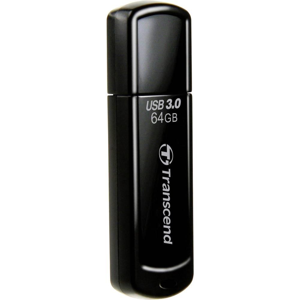 usb stick 64 gb transcend jetflash 700 black ts64 from. Black Bedroom Furniture Sets. Home Design Ideas