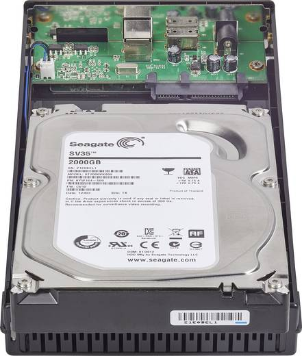SATA-Festplatten-Gehäuse 3.5 Zoll HD323S3A USB 3.0