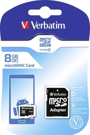microSDHC-Karte 8 GB Verbatim Class 4 inkl. SD-Adapter