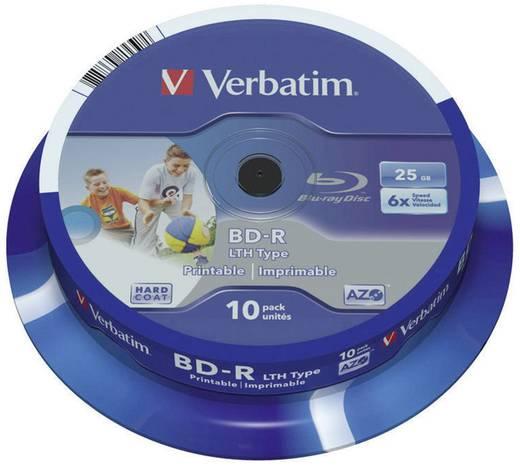 Verbatim Blu-ray BD-R SL LTH 25 GB 6x 10er bedruckbar