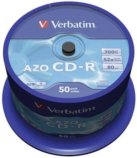 CD-R Rohling 700 MB Verbatim 43343 50 St. Spindel
