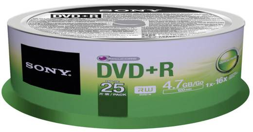 Sony DVD-R 4,7GB 16x 25er Spindel