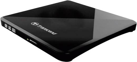 DVD-Brenner Extern Transcend TS8XDVDS-K Retail USB 2.0 Schwarz