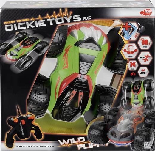 Dickie Toys 201119063 Wild Flippy 1:14 RC Modellauto Elektro 40 MHz