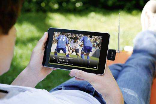 DVB-T TV-Stick Elgato EyeTV Micro mit DVB-T Antenne Anzahl Tuner: 1